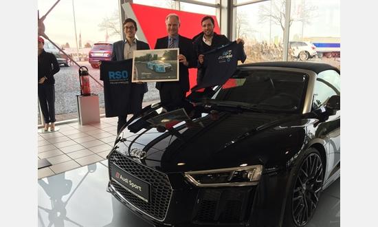 Foto der News Audi Zentrum Krefeld und Rennsport Online verlängern ihre Zusammenarbeit