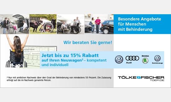 Foto des Serviceangebots Besondere Angebote für Menschen mit Behinderung