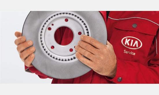 Foto des Serviceangebots Bremsscheibenwechsel bei Kia
