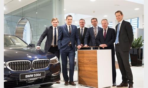 Foto der News Hoher Besuch bei BMW MINI UNTERBERGER Kufstein