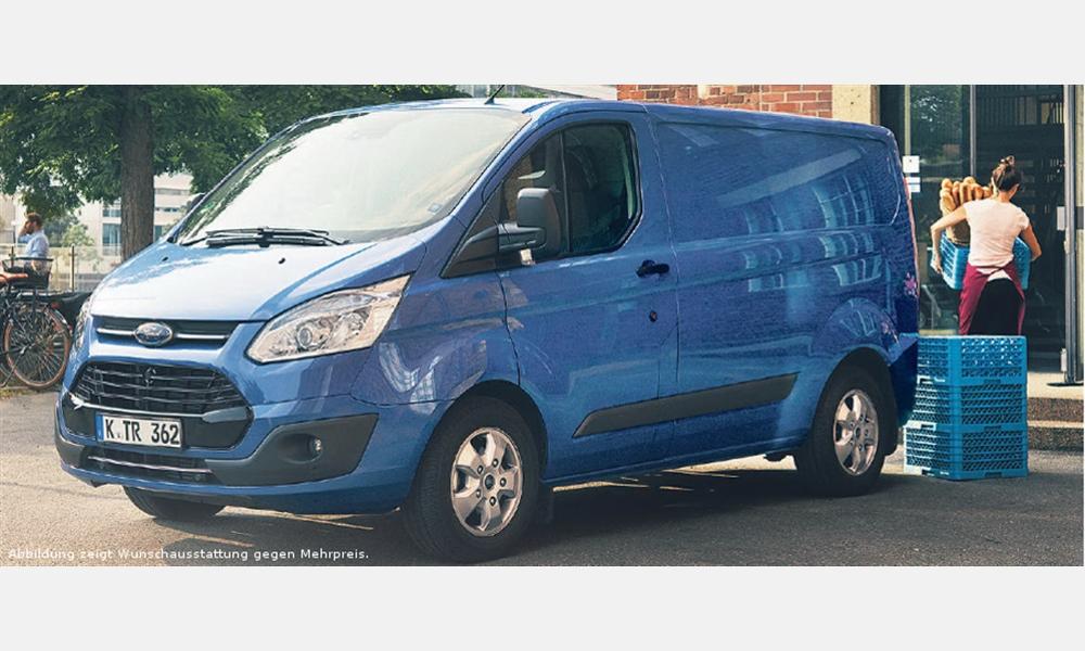 Ford Transit Custom Sport Kastenwagen Lkw für 279€ im Monat