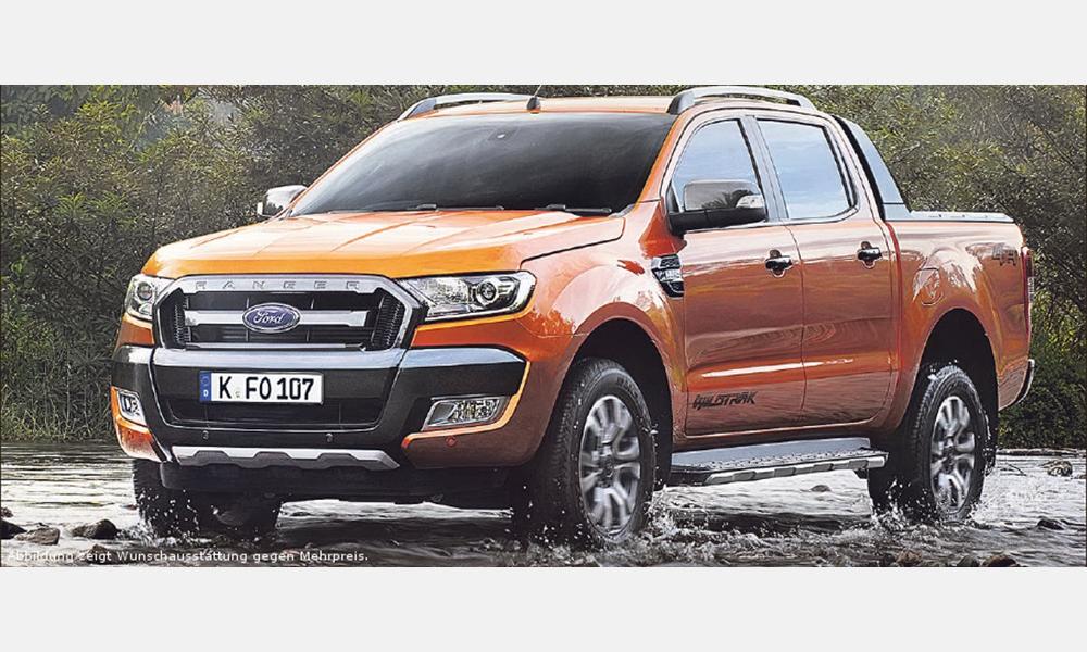 Ford Ranger Wildtrak für 33.612,61€