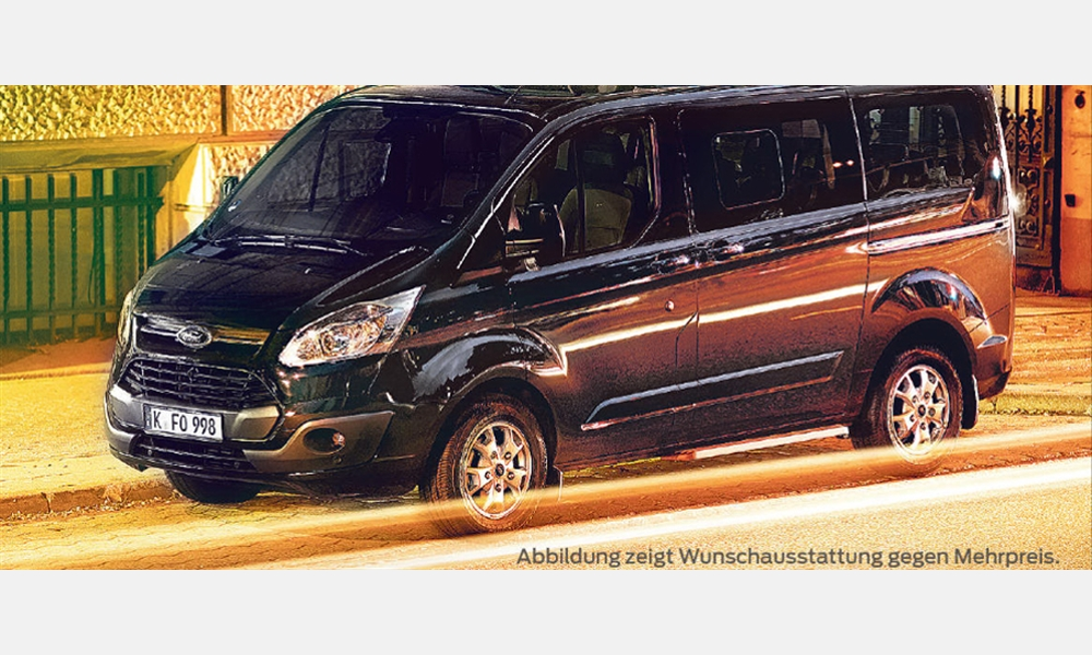Ford Tourneo Custom Titanium für 36.973,95€