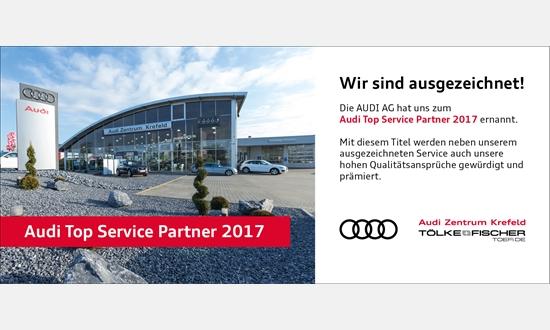 Foto der News Wir sind Audi Top Service Partner 2017