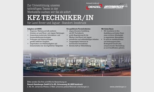 Foto des Stellenangebots KFZ-Techniker/in für Land Rover und Jaguar