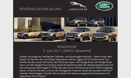Foto der News Land Rover Roadshow