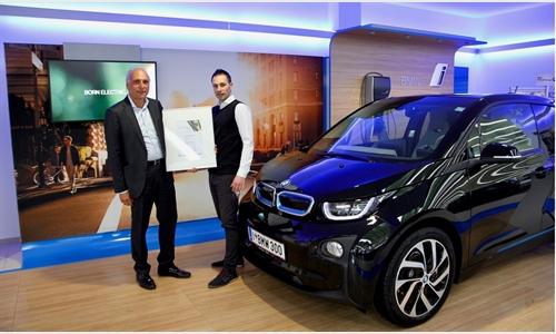 Foto der News BMW Group Kompetenzzentrum Unterberger-Denzel als Österreichs bester BMW i Händler ausgezeichnet