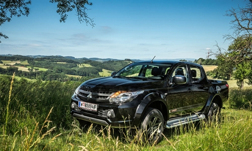 Foto der News Pick-up Sondermodell YUKON