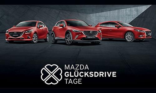 Foto der News Mazda Glücksdrive Tage