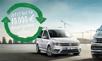 Foto des Serviceangebots Jetzt bis zu 10.000 € Umweltprämie sichern. VW-Nutzfahrzeuge