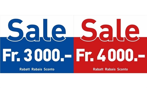 Foto der News SALE